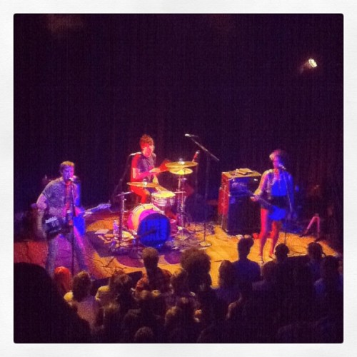 The Thermals! Yaaaaay! (at Lincoln Hall)