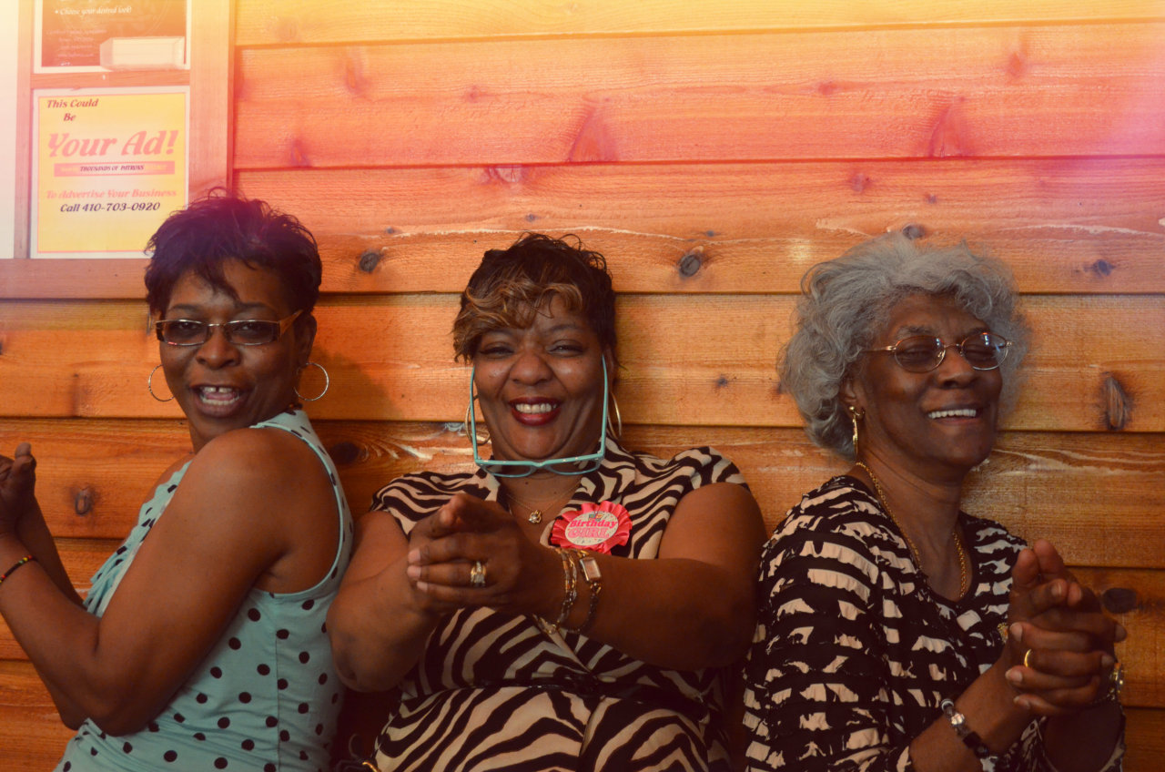 Curtisha's Angels (my aunt, mom, and granny)
