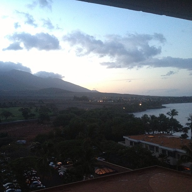 Good morning #maui #nofilter (at Hyatt Regency Maui Resort And Spa)