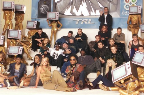 mtv:  tyleroakley:  The TRL Class of 1999 was everything.  woah.  I had a poster from this shoot somewhere. i might still have some. i'm a terrible, terrible packrat.