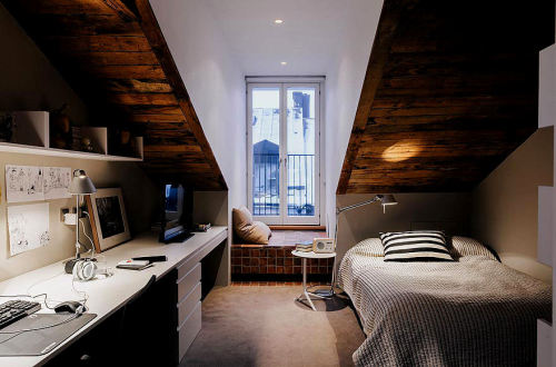 luxurylovesdesign:  Apart from the single bed, I love this <3