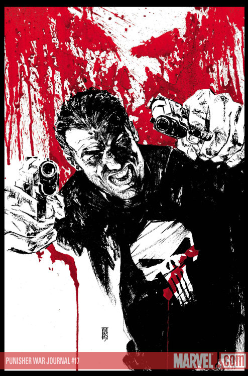 PUNISHER WAR JOURNAL #17 - March 2008  Wonderful cover by Alex Maleev !! :-) My links (follow me):ALEX MALEEV / THE PUNISHER / MARVEL COMICS.