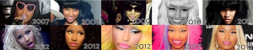 She NEVER Changed, same nose, same eyes, same lips….