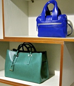 Jil Sander SS 2013 bags as seen in Florence, Italy -