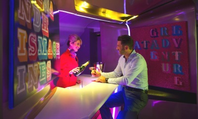 Virgin launches 'first art gallery at 35,000ft' for upper class airline passengers
