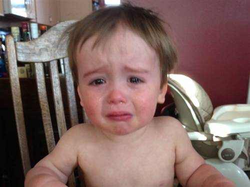 "'Reasons My Son is Crying' dad: 'Every parent experiences meltdowns' (Photo: reasonsmysoniscrying / Tumblr) Greg Pembroke is as patient a dad as he can be, but with two boys under 4, his fortitude gets tested quite a bit. Instead of letting those youngsters get the better of him, the Rochester, N.Y., dad decided to have a little fun. Pembroke, 32, is the father behind the latest viral parenting blog, the Tumblr page aptly titled, ""Reasons My Son Is Crying,"" a collection of photographs of his younger son, 20-month-old Charlie, in various states of distress. Read the complete story."