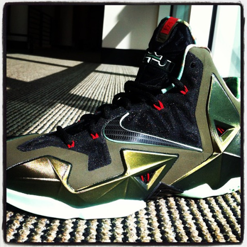 mcfly17:  Nike is making the new LeBron IX. well this new chapter of the LeBron signature series is composed up by nikes best materials. Mavcarter gave us a preview of the new shoe. this is innovation at its finest. it has foamposite material, dynamic flywire. it may have a bit of hyperfuse material. well what do you think of the new signature series?