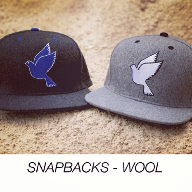 Sneakpeak GWspring/summer13. Out soon! #galagowear #snapbacks #wool #spring