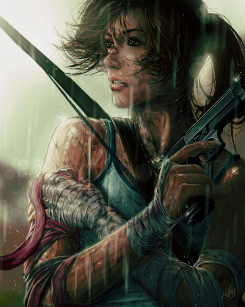 baazam:  Lara's Moment by ~Huue