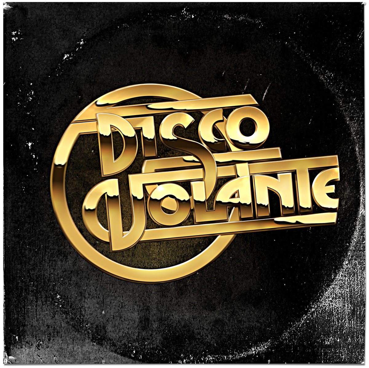 Disco Volante - A late 70's/early 80's inspired typographic piece. I wanted to work with some gold and badly dated fonts to create something that could look straight off an LP record cover.