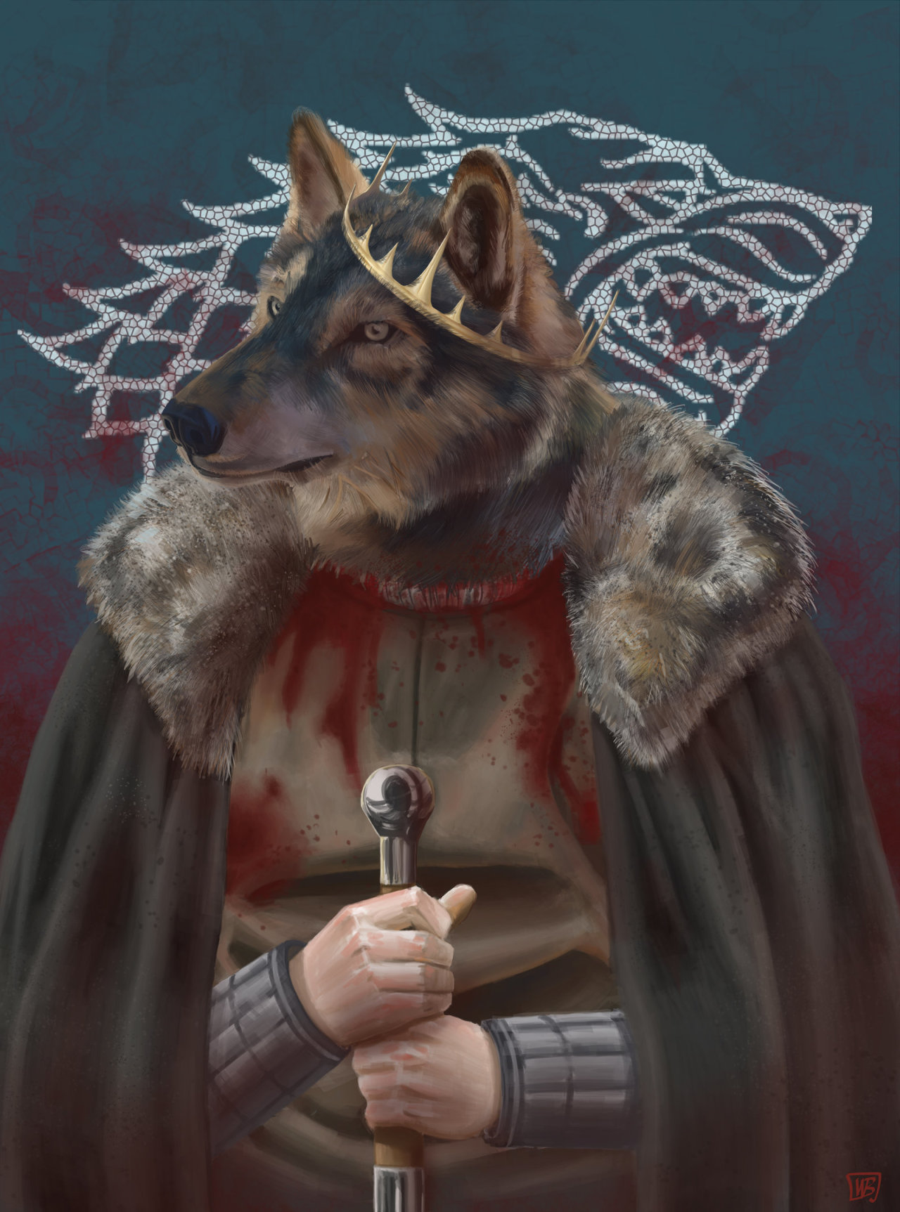 King in the North by ~Wilmar-Ballespi