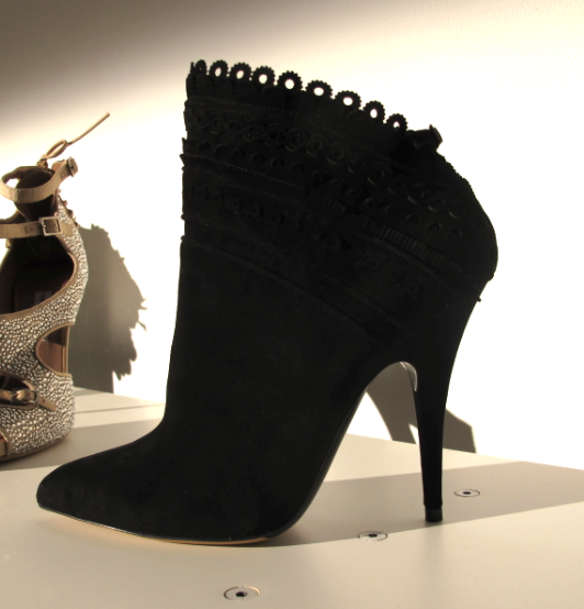 theinsidesource:  The Tabitha Bootie Oh, Tabitha Simmons, how I covet thee Booties. Check out more shoes presented at the Milk Studios presentation at MilkMade/TabithaSimmons  (Photo and Text by Jauretsi)