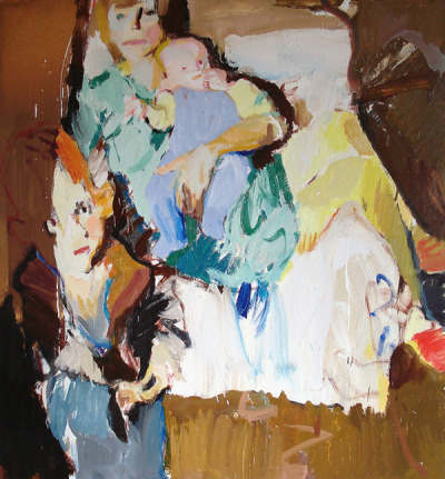 Vladimir Semenskiy Family, 2010Oil on canvas. 140 x 150