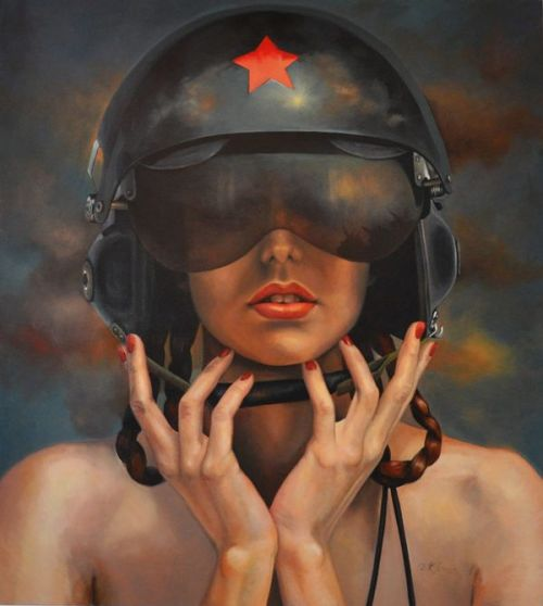 Battle Girl by Kathrin Longhurst Model is Mea Culpa