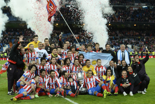2012-2013 Copa Del Rey Champion Atletico Madrid!