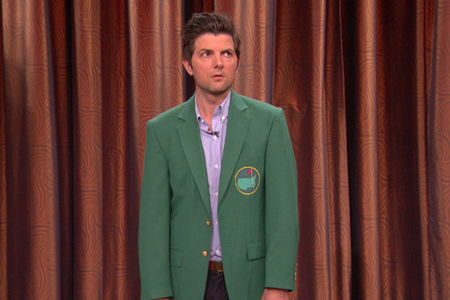 There Are 2 Adam Scotts, They Both Look Good In Green Jackets & You Probably Only Know One