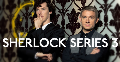 We've just heard from Sue Vertue that to mark the start of Sherlock filming tomorrow, we MIGHT find out the title of S3E1… So stay tuned!