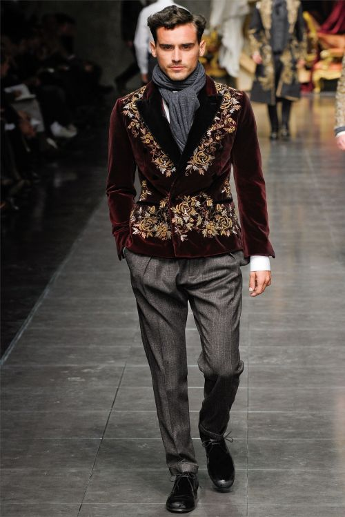 Dolce and Gabbana Fall Winter 2012  facebook.com/GentlemanF