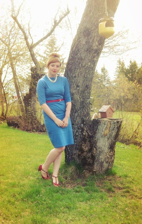 Vintage glamour in the fresh air. Via the ModCloth Style Gallery.