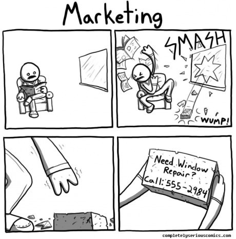 9gag:  Marketing