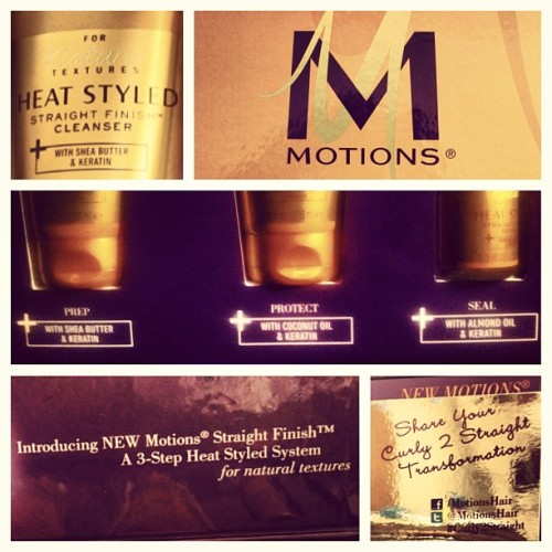 """Straight Finish"" goodies courtesy of @MotionsHair! #Curly2Straight #hair #beauty"