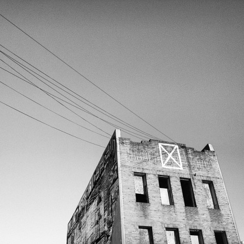 Abandoned building in Bushwick, Brooklyn.
