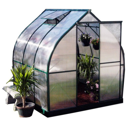 Tulip House Greenhouse, 21% off now featured on Fab.Fab.comMary, Mary, quite contrary, how does your garden grow? With the Tulip House Greenhouse, the answer will be: quite easily, in all seasons! This sloped wall greenhouse kit features a more durable design than other entry-level greenhouses, allowing snow to slide off and wind to gust over the structure. With vents, a louvre window, shelves, and a sliding door, you should get ready for a happy ending to your gardening fairy tale.