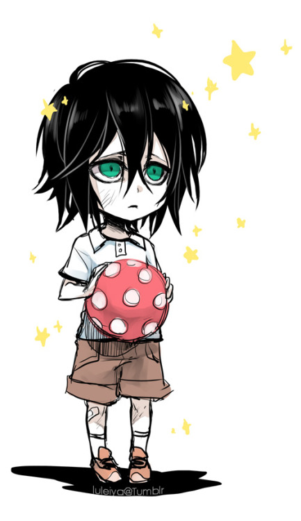 luleiya:  Ulquiorra, reborn as a human child~ ♥ (there is so much angst in the doujin I'm working on, I had to unwind somehow xD;;;)