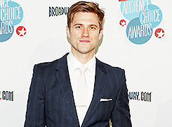 Aaron Tveit January - May 2013
