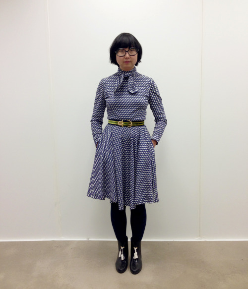 DAILY SHIRLEY fashion week with Rodarte