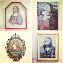 Ryan Villamael, Romeo Lee, Dina Gadia & Luis Santos. #artph #art #themonalisaproject  (at Cultural Center of the Philippines)