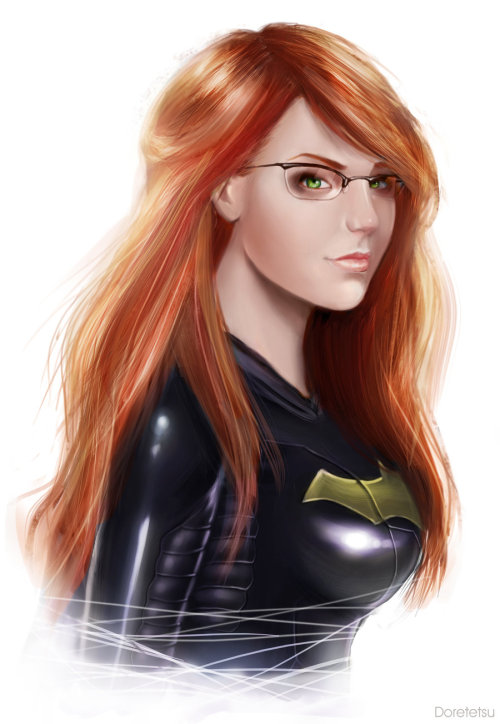 bentlantern:  Commission-Barbara Gordon-Batgirl by *Doretetsu