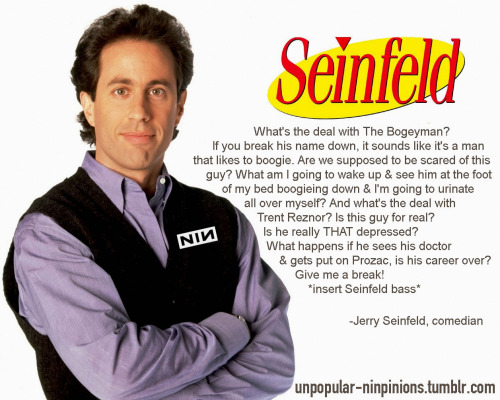 submitted by Jerry Seinfeld