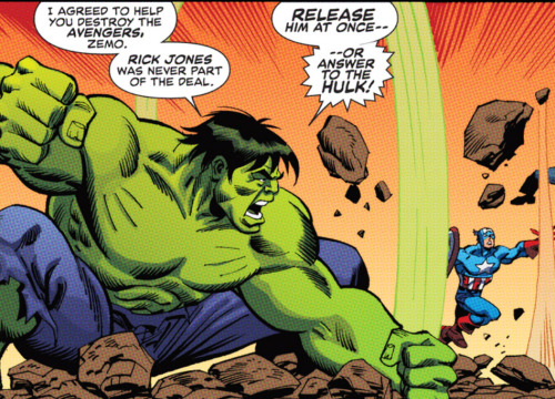 The Hulk Battles The Avengers