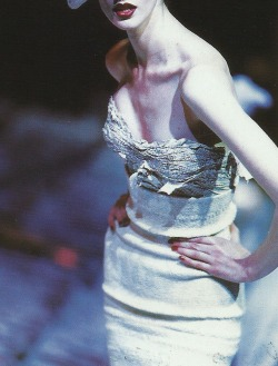 voguelovesme:  Galliano F/W 95