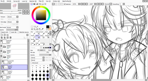 HONG AND ISEUL HAVE TOO MUCH HAIR.I AM SO LOST IN MY OWN SKETCHES *CRYING*