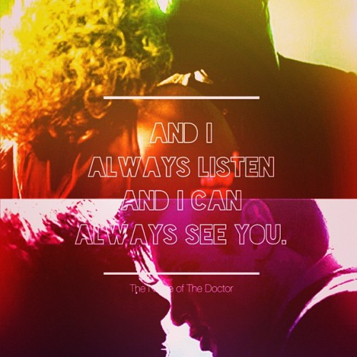 13-septembre:  And I always listen and I can always see you.. 😭❤ #TheNameofTheDoctor #DoctorWho #RiverSong (at The Fields of Trenzalore)