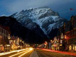 wliabl:  Banff Avenue - Alberta, Canada <3 like us on facebook ==> https://www.facebook.com/weliveinabeautifulworld follow us on tumblr ==> http://wliabl.tumblr.com