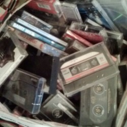 Just some more cassettes and cds. #music for days