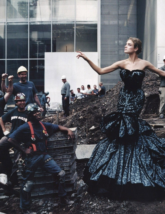 bemyguestdesign:  'High Art', Natalia Vodianova by Annie Leibovitz, Vogue US November 2004. Christian Dior Fall Winter 2004 Haute Couture