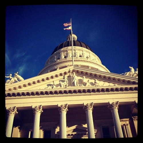 At the Capital with @tinkleburrito (at The State Capitol Building)