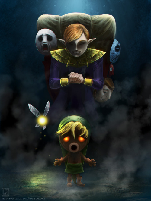 triforceof-power:  Majora's Mask: Terrible Fate by *uniqueLegend
