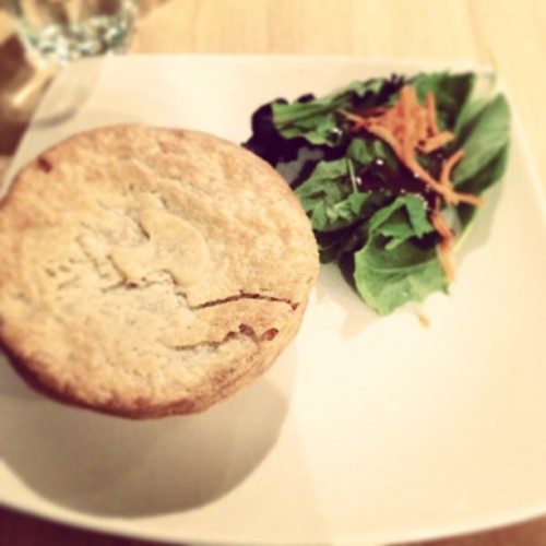 Beef mushroom #pie (at Pacific Pie Company)