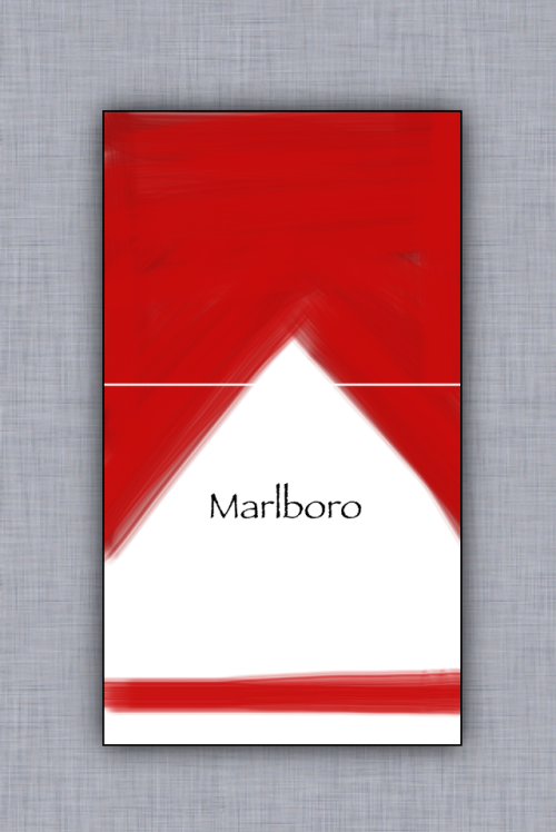 thejogging:  Marlboro Reds, 2013 ArtStudio v5.8 for iphone 5 ¬ˆ®å  papayrus?  really?!  FUCKING PAPYRUS?