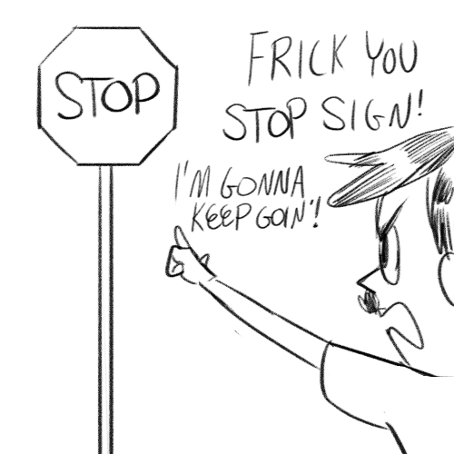 "kingcheddarxvii:  YOU CAN'T DEFY ""READ"" SIGNS AND THAT'S TERRIFYING"