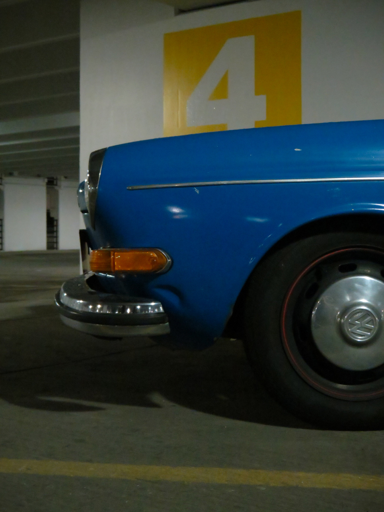 scrapeyard:  Blue's Blue Volkswagen Type 3 Things about the shoot: //Didn't get the exact shots I wanted in the garage. (there was a drug deal going on) //Met a really rad dude //Rolling shots while driving the 240 are super hard to do