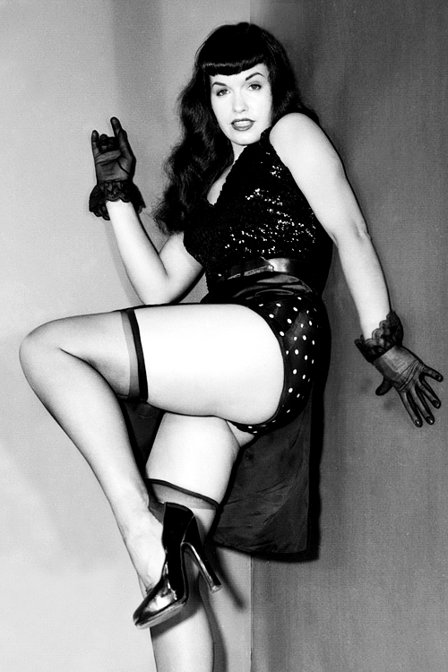 Bettie page and tempest storm 1950s vintage - 5 5