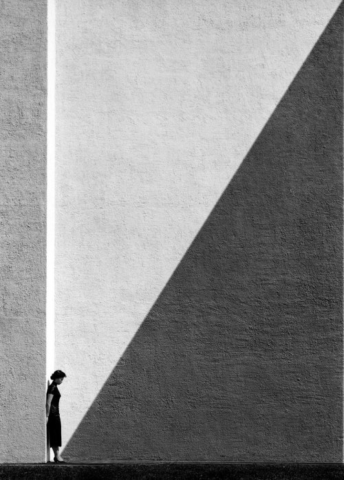'Approaching Shadow' by Chinese photographer, film director and actor Ho Fan / 何藩 | Hong Kong | 1954