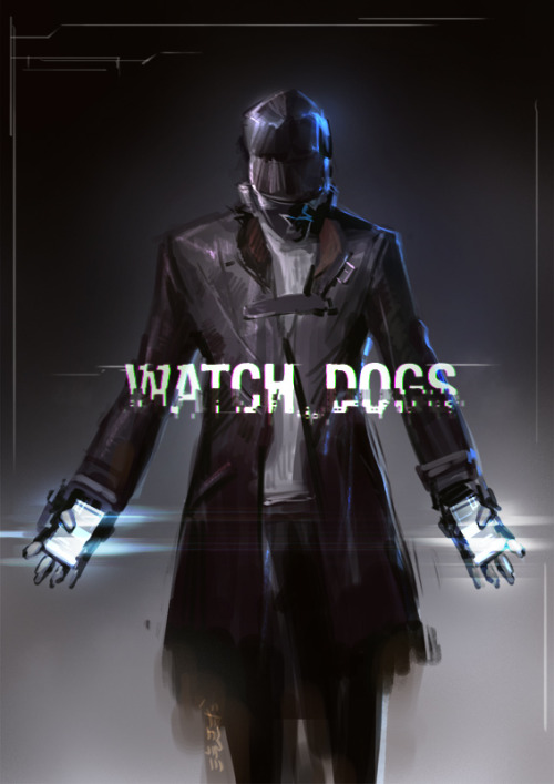 xombiedirge:  Watch Dog by Guan-Yu Chen