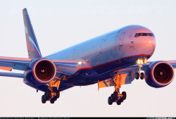 Second Boeing 777 for the Russian airline Aeroflot